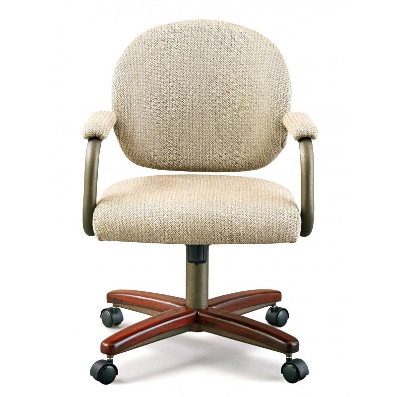 Chromcraft C363-935 Swivel Tilt Caster Dinette Chair