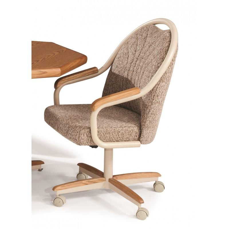 Douglas Casual Living Gina/Geneva Swivel Tilt Chair With Wheels Set Of 2