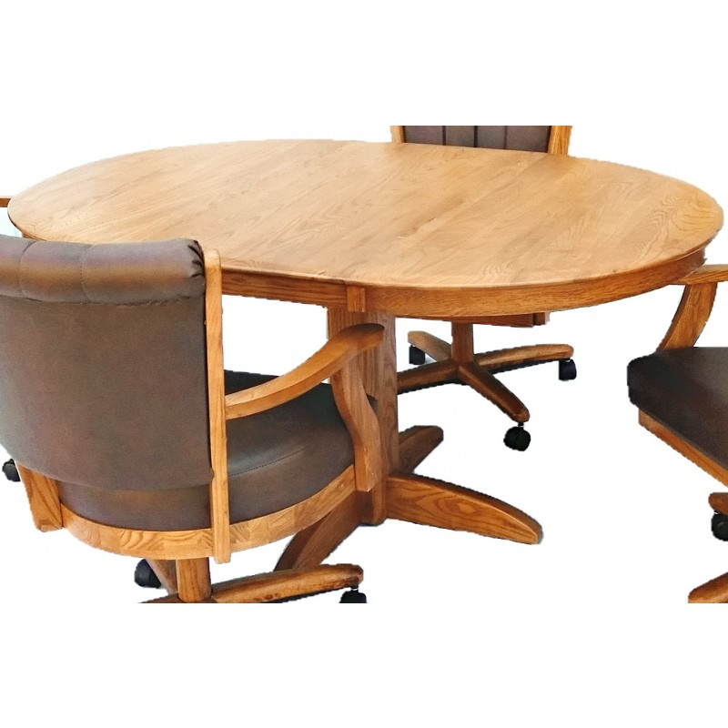 Chromcraft Furniture T250-607 Solid Wood Dinette Table
