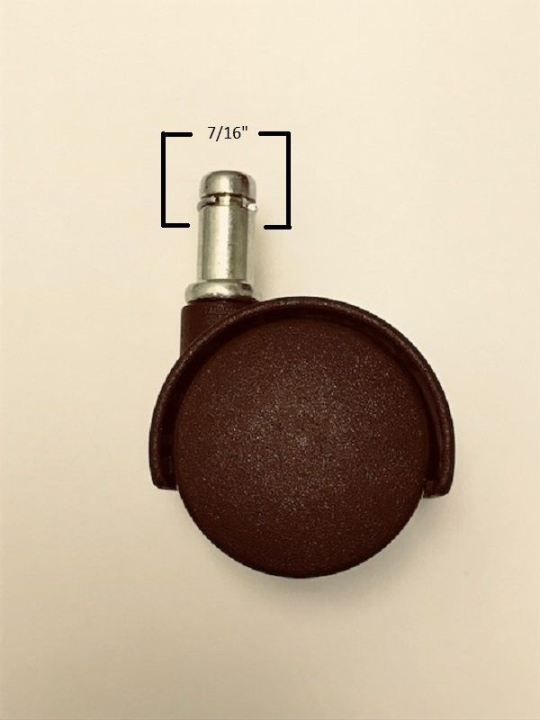 Chromcraft Furniture Brown Oem Replacement Casters