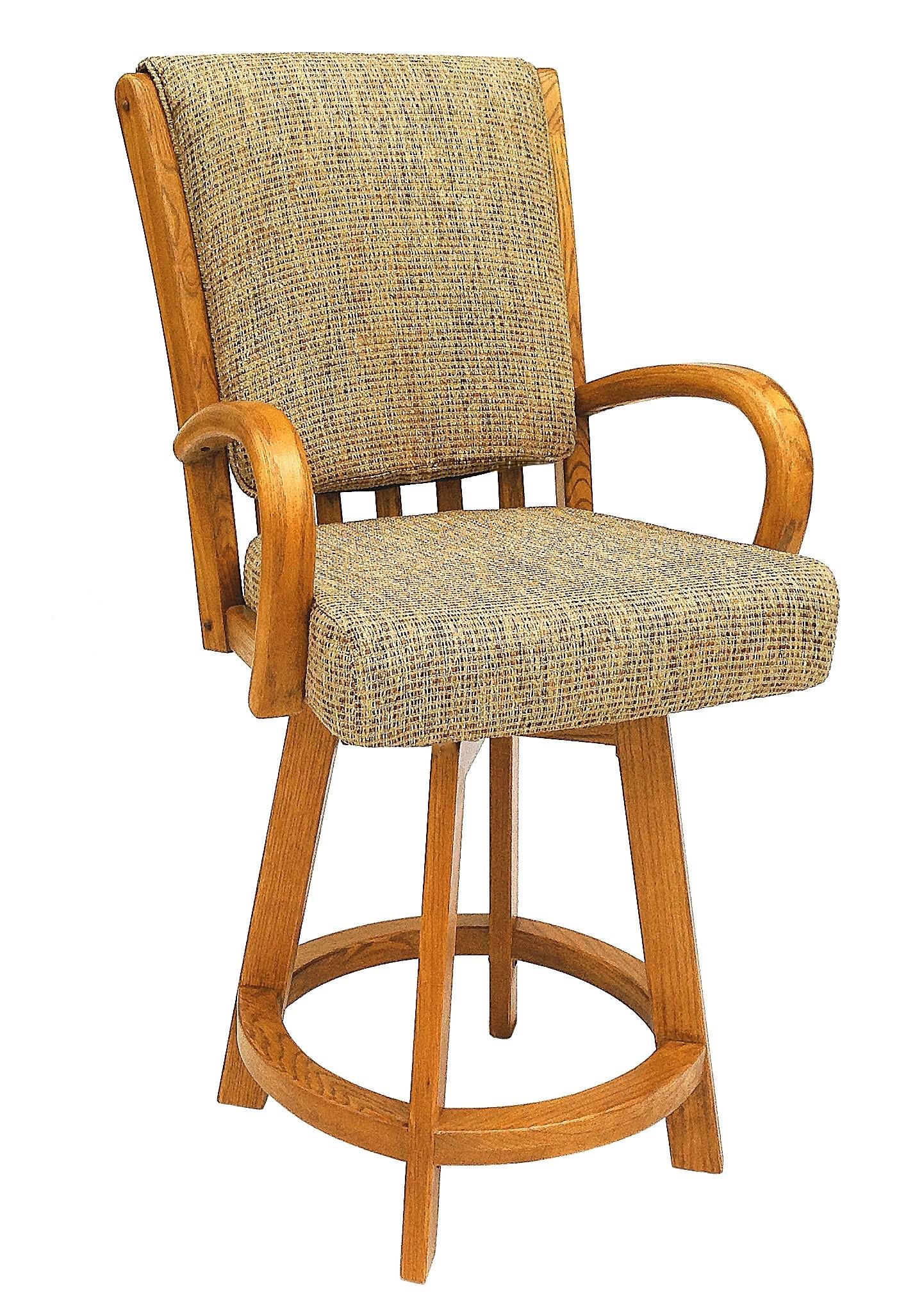 Chromcraft Furniture C177 384 Swivel Counter Height 26