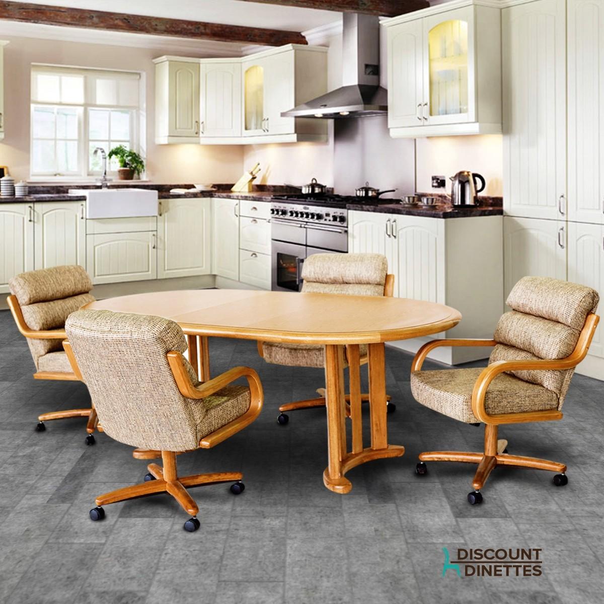 Chromcraft Furniture T141-456 And C137-936 Dinette Set