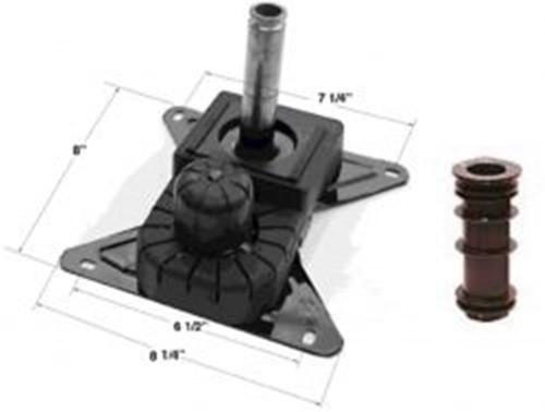 Chromcraft Swivel Tilt Mechanism With Plastic Insert