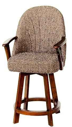 chromcraft furniture c127 384 swivel counter height 26 bar stool