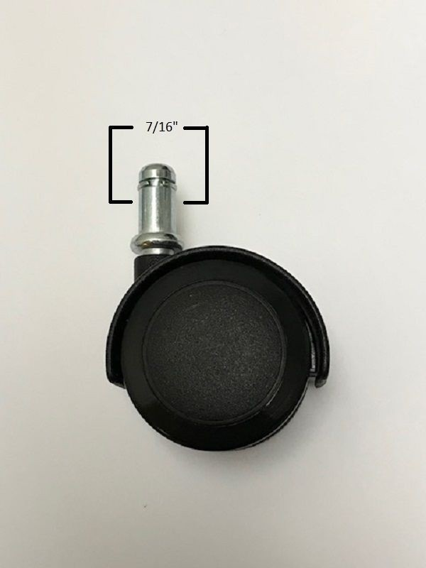 Chromcraft Replacement Soft Tread Casters For Laminate Or