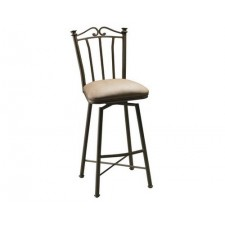 "Pastel Furniture LG 219-26 Laguna Collection 26"" Swivel Bar Stool - Shandora Toast"
