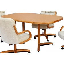 Chromcraft T324-466 Square Round Dinette Table