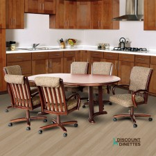 Chromcraft C177-946 and T817-85 7PC Dinette Set