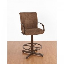 "Tempo Like Furniture Durango Swivel 26"" Durant Bar Stool by Callee"