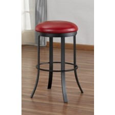 "Tempo Like Birkin 34"" Swivel Backless Bailey Bar Stool by Callee"