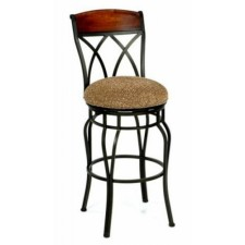"Tempo Like Hartford Swivel 34"" Hayward Bar Stools by Callee"