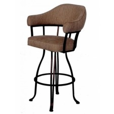 "Tempo Like Lodge Swivel 26"" London Bar Stools by Callee"