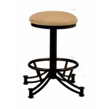"Tempo Like Sonora 34"" Swivel Backless Seattle Bar Stool by Callee"