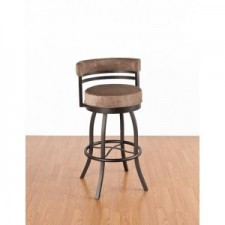 "Tempo Like Americo 34"" Swivel Americana Bar Stool by Callee"