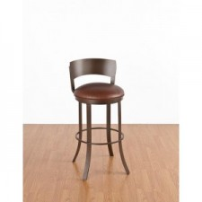 "Tempo Like Birkin 26"" Swivel Bailey Bar Stool by Callee"