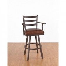 "Tempo Like Clinton 34"" Swivel Claremont Bar Stool by Callee"