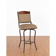 "Tempo Like Madera 34"" Madena Swivel Bar Stool by Callee"