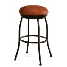 "Tempo Like Brazilia 26"" Backless Swivel Bristol Bar Stool by Callee"