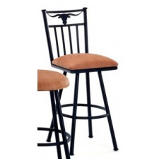"Tempo Like Longhorn 26"" Swivel Bar Stool by Callee"