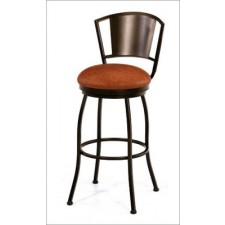 "Tempo Like Brazilia 34"" Swivel Bristol Bar Stool by Callee"