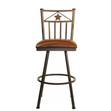 "Tempo Like Lonestar 34"" Swivel Bar Stool by Callee"
