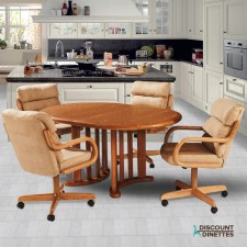 Douglas Casual Living Paula/Margo/Peggy Caster Dining Set