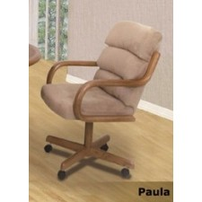 Douglas Casual Living Paula/Margo/Peggy Caster Dining Chair Set of 2