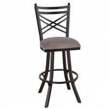 "Tempo Like 26"" New Rochelle Swivel Rochester Bar Stool by Callee"