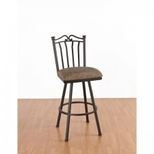 "Tempo Like Somerset 34"" Swivel Sunset Bar Stool by Callee"
