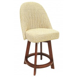 "Chromcraft Core C128-388 Swivel 30"" Bar Stool"