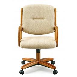 Chromcraft Furniture C176-946 Swivel Tilt Caster Arms Chair
