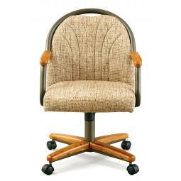 Chromcraft C188-945 Swivel Tilt Caster Arm Chair
