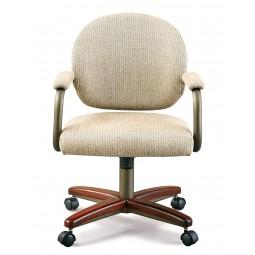 Chromcraft C363-945 Swivel Tilt Caster Dinette Chair