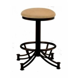 "Tempo Like Sonora 30"" Swivel Backless Seattle Bar Stool by Callee"