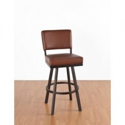 "Tempo Like Manhattan 26"" Swivel Malibu Bar Stool by Callee"