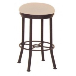 "Tempo Like Bullseye 26"" Backless Swivel Burnet Bar Stool by Callee"