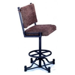 "Tempo Like Bullseye 34"" Swivel Wide Body Burnet Bar Stool by Callee"
